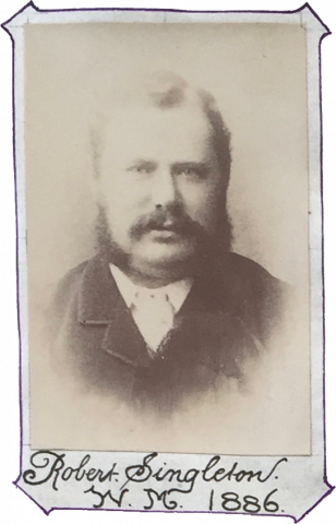 Robert Singleton, WM 1886