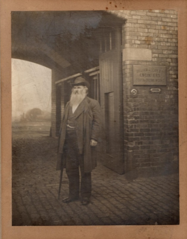 At Scotia Engine Works, circa 1900