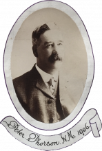 Peter Phorson. WM 1906